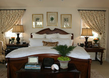 Do you have info on the bed manufacturer? Traditional lines but sleek.