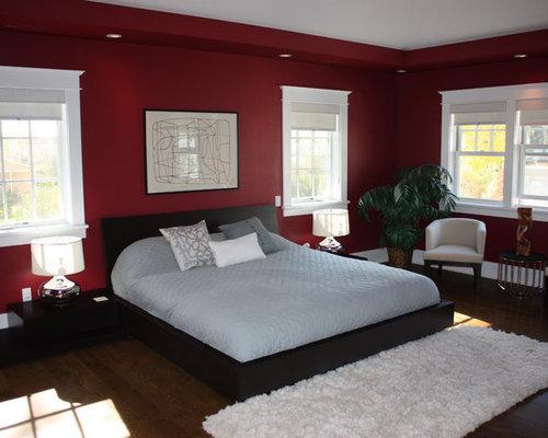 Master Bedroom Red red master bedroom | houzz