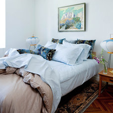 midcentury bedroom by Kristen Rivoli Interior Design