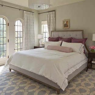 Transitional master bedroom photo in Minneapolis