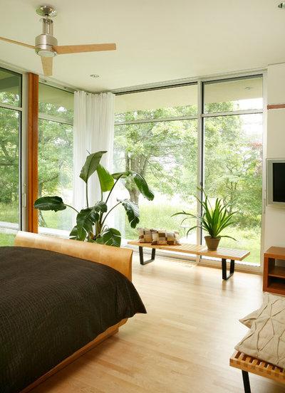 モダン 寝室 by Lasley Brahaney Architecture + Construction