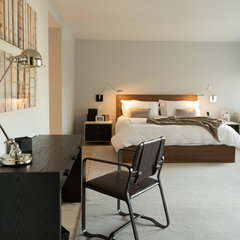 contemporary bedroom by Lauren Held Designs, LLC