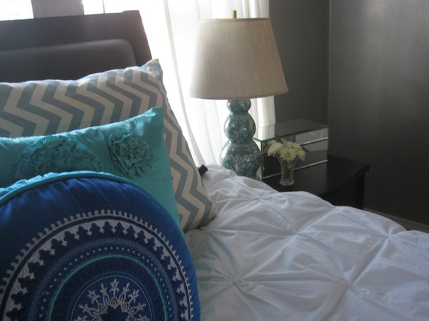 Eclectic Bedroom by Leah