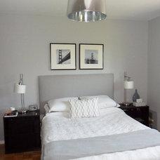 Modern Bedroom by Lindsay Down