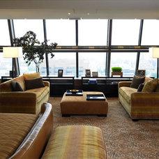 Contemporary Bedroom by LKM Design