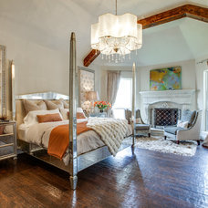 Transitional Bedroom by Lori Rourk Interiors Inc.