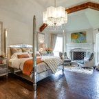 Mclean Glamour Contemporary Bedroom Dc Metro By
