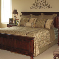 Traditional Bedroom by Designing Interiors Inc