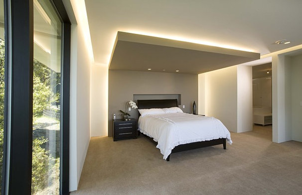 Contemporary Bedroom by Mark English Architects, AIA