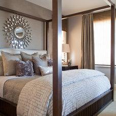 Contemporary Bedroom by Megan Crane Designs, Inc.