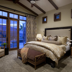 traditional bedroom by Michael Abrams Limited