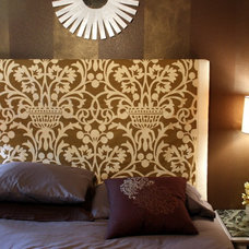 Eclectic Bedroom by Michelle Edwards