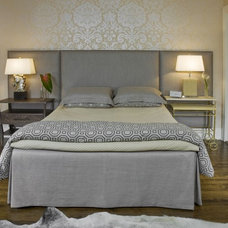 Transitional Bedroom by Molly McGinness Interior Design
