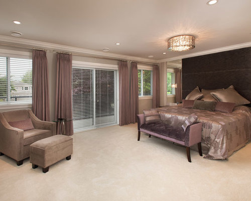 Mauve bedroom ideas and photos houzz for Mauve bedroom decorating ideas