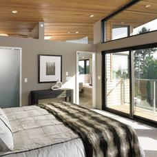 Modern Bedroom by My House Design Build Team