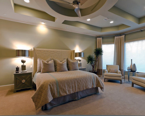 Tranquil master bedroom ideas pictures remodel and decor for Mediterranean master bedroom