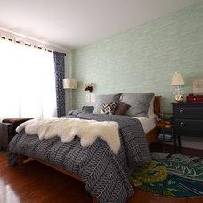 Modern Bedroom by Nicole Lanteri Design