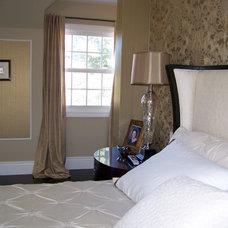 Eclectic Bedroom by Nina sobiNina Design