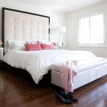 Bed pillow arrangement
