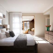 Contemporary Bedroom by Orbit Homes