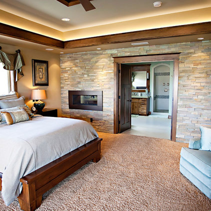 Traditional Bedroom by Pahlisch Homes, Inc.