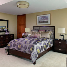 Contemporary Bedroom by Pat Manning-Hanson, ASID