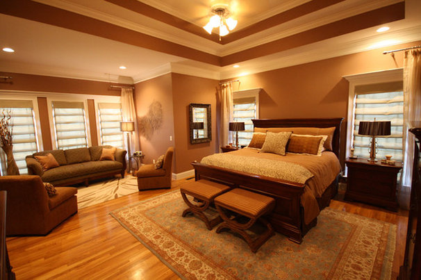 Traditional Bedroom by Cheek Interiors