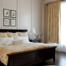 Traditional Bedroom by Rachel Oliver Design, LLC