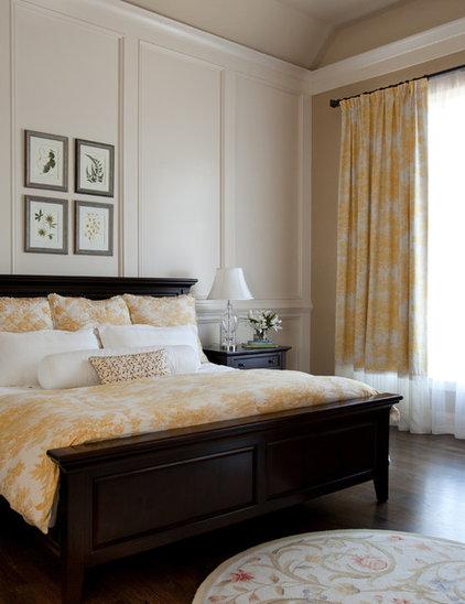 Traditional Bedroom by Rachel Oliver Design, LLC