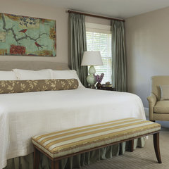 traditional bedroom by Rachel Reider Interiors