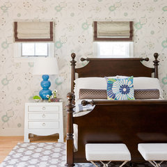 eclectic bedroom by Rachel Reider Interiors