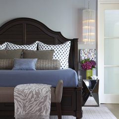 modern bedroom by Rachel Reider Interiors