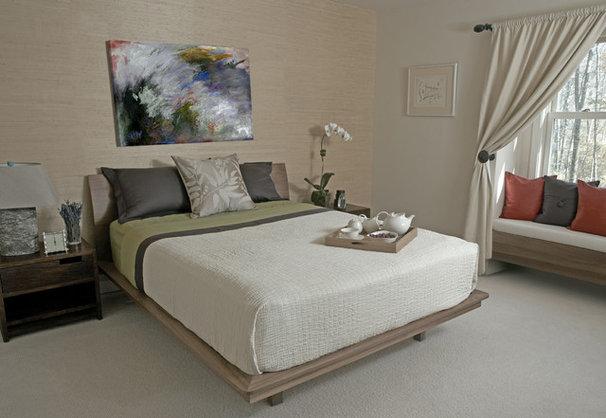 Contemporary Bedroom by Raine Heidenberg Interior Design