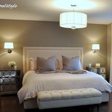 Traditional Bedroom by soulstyle Interior Decorating & Home Staging
