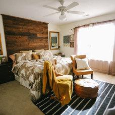 Contemporary Bedroom by LizMarieBlog.Com