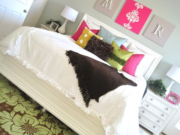 Eclectic Bedroom by Rebecca Propes - Fresh Chick Design Studio