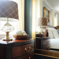 Transitional Bedroom by redhead design, llc