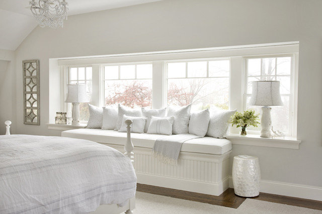Beach Style Bedroom by Molly Frey Design