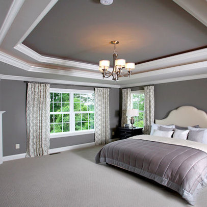 Tray Ceiling Bedroom On Pinterest Cherry Sleigh Bed