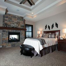 Rustic Bedroom by Instyle Interiors