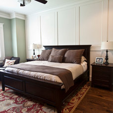 Transitional Bedroom by Ridgewater Homes Inc