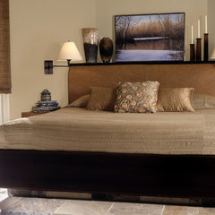 contemporary bedroom by Robin Muto