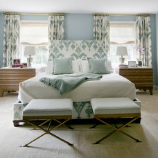 Transitional Bedroom by Roost Interior Design