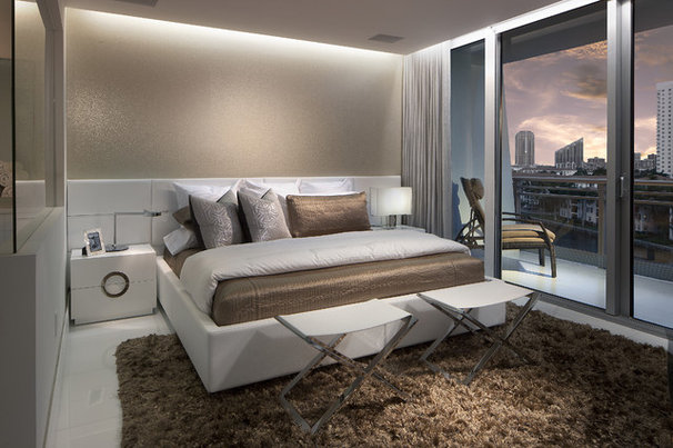 Contemporary Bedroom by RS3 DESIGNS