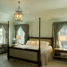 Eclectic Bedroom by RWA Architects