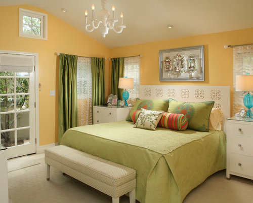 Green And Yellow Home Design Ideas Pictures Remodel And