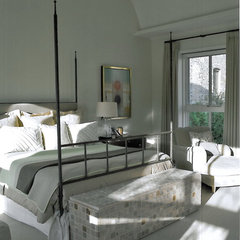 contemporary bedroom by SemelSnow Interior Design, Inc.