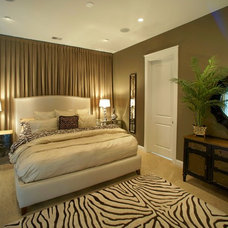 Contemporary Bedroom by Sharon Payer Design, llc