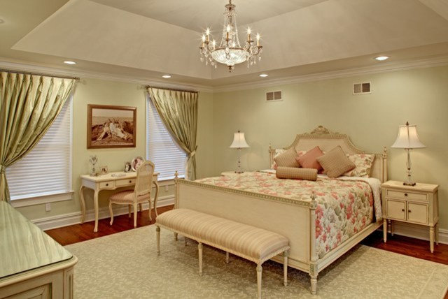 Before And After French Country Master Suite Renovation