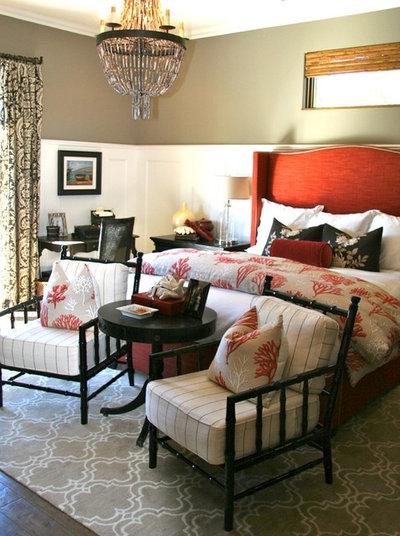 Stunning Mediterranean Bedroom by SINGLEPOINT DESIGN BUILD INC